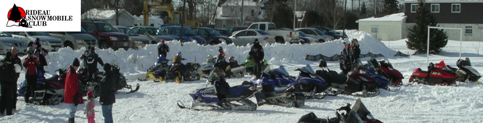 Welcome to the Rideau Snowmobile Club Website